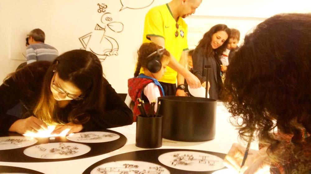 Ocupação Glauco, no Itaú Cultural | Foto: Camila Honorato