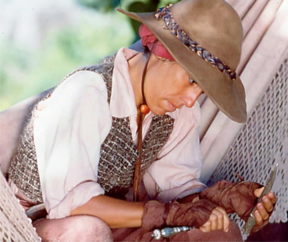 Glória Pires como Maria Moura na minissérie homônima da Rede Globo, exibida em 1994 | Crédito: Divulgação