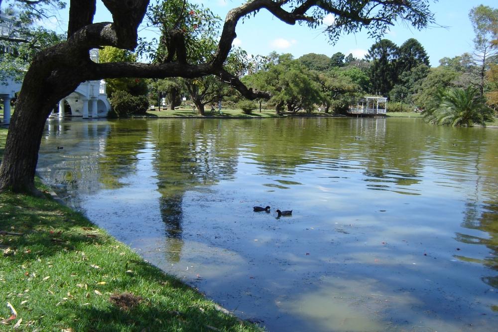 Bosque de Palermo em Buenos Aires, capital da Argentina | Crédito: Eurico Zimbres/Wikimedia Commons
