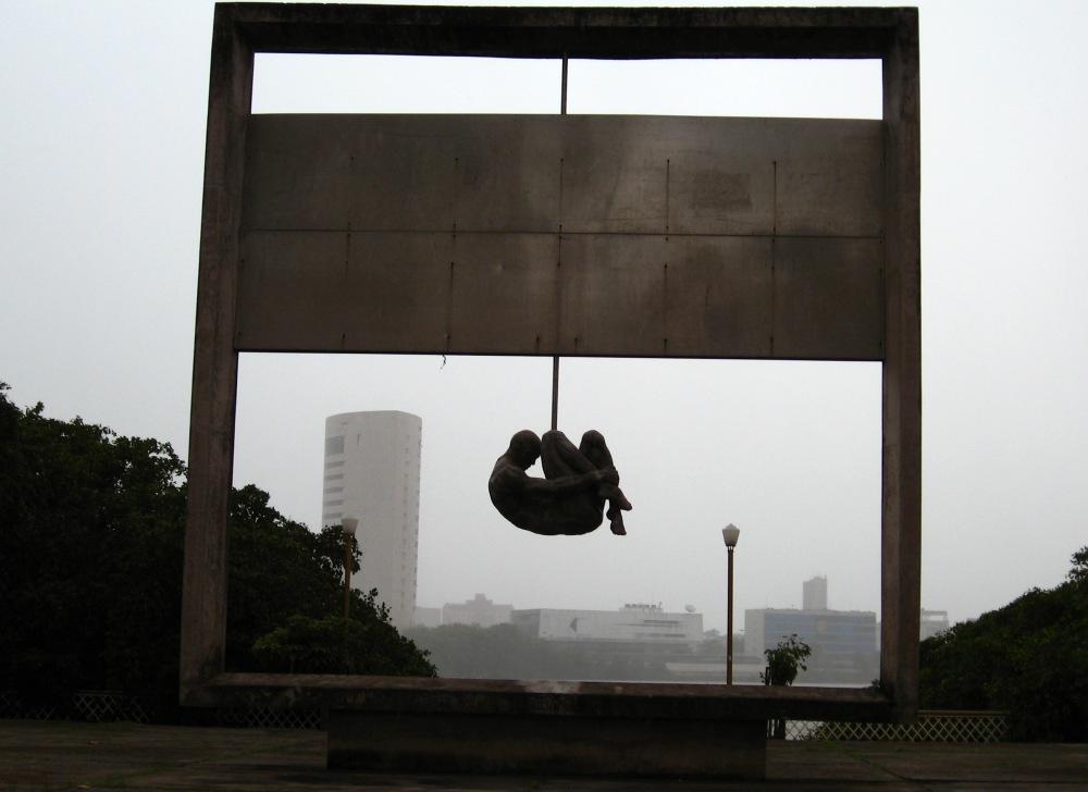 Monumento Tortura Nunca Mais, em Recife | Crédito: marcusrg/Wikimedia Commons