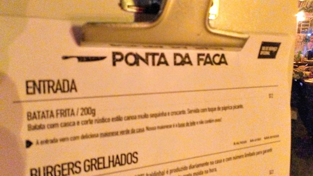 Restaurante Ponta da Faca, em SP | Crédito: Camila Honorato
