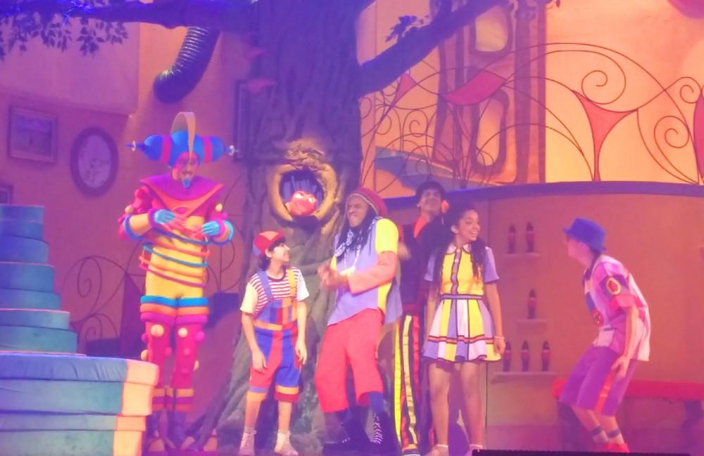 A versão musical de Castelo Rá-Tim-Bum trouxe personagens icônicos para o teatro | Crédito: Camila Honorato