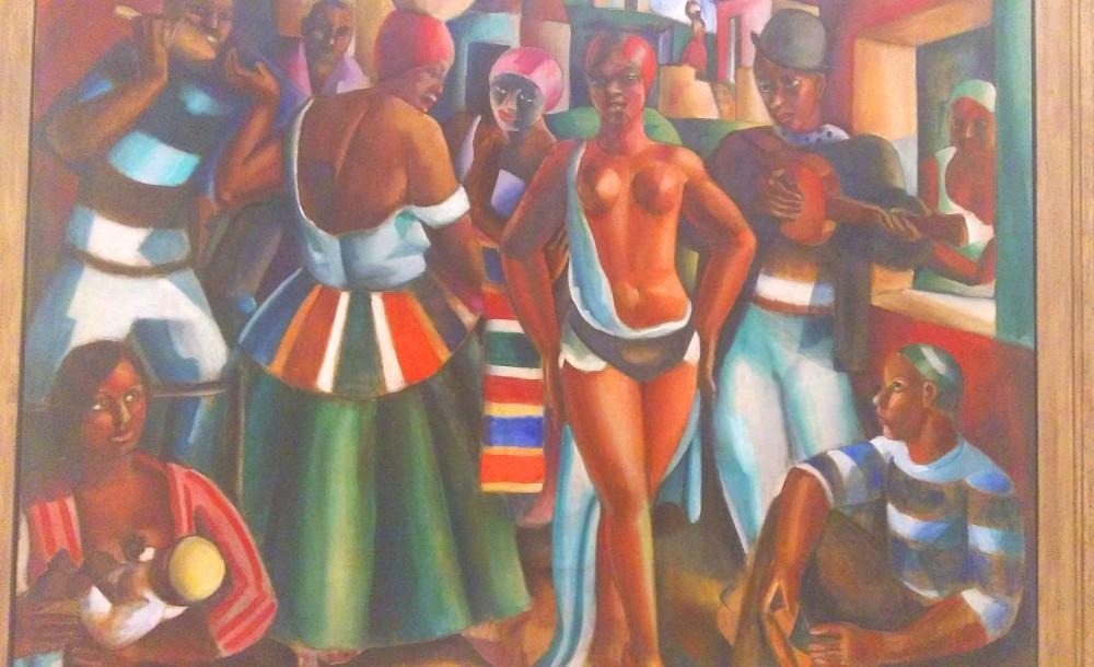 "Obra ""Samba"", de 1927 | Crédito: Camila Honorato"
