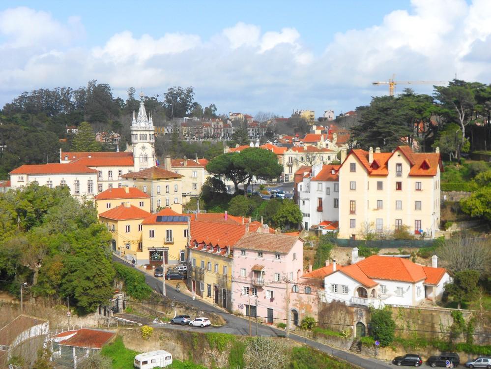 O encanto do vilarejo de Sintra, em Portugal | Crédito: Camila Honorato