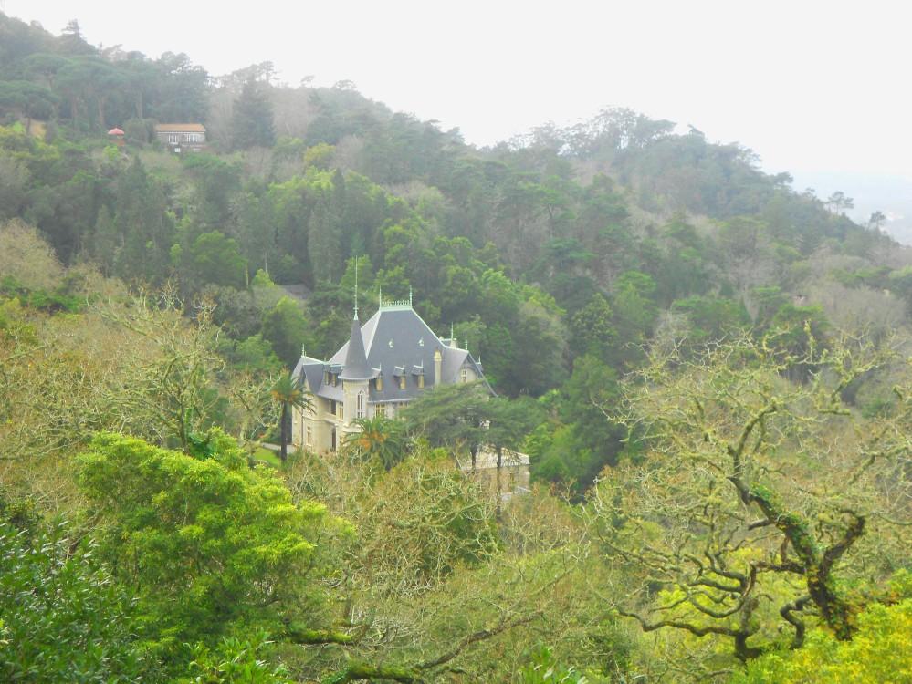 Uma das muitas visões proporcionadas pela minha trilha em Sintra, Portugal | Crédito: Camila Honorato
