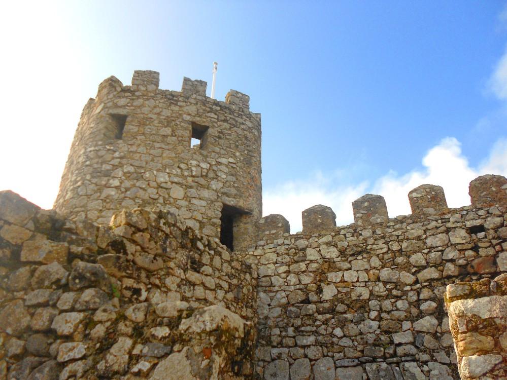 Castelo dos Mouros em Sintra, Portugal | Crédito: Camila Honorato