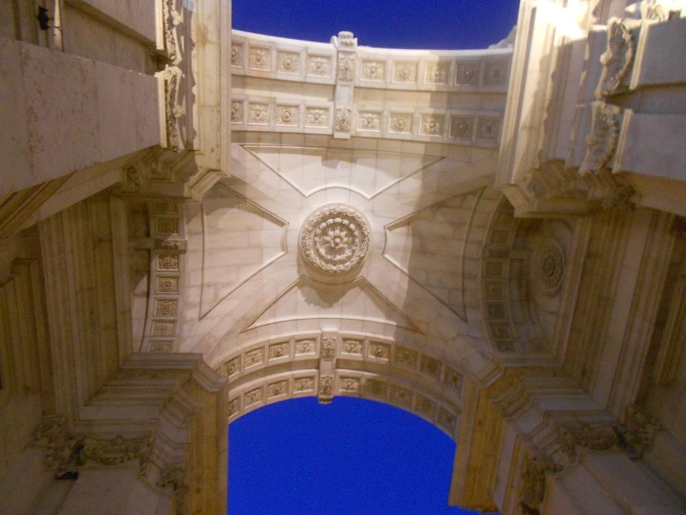 Arco da Rua Augusta, Lisboa, Portugal | Crédito: Camila Honorato