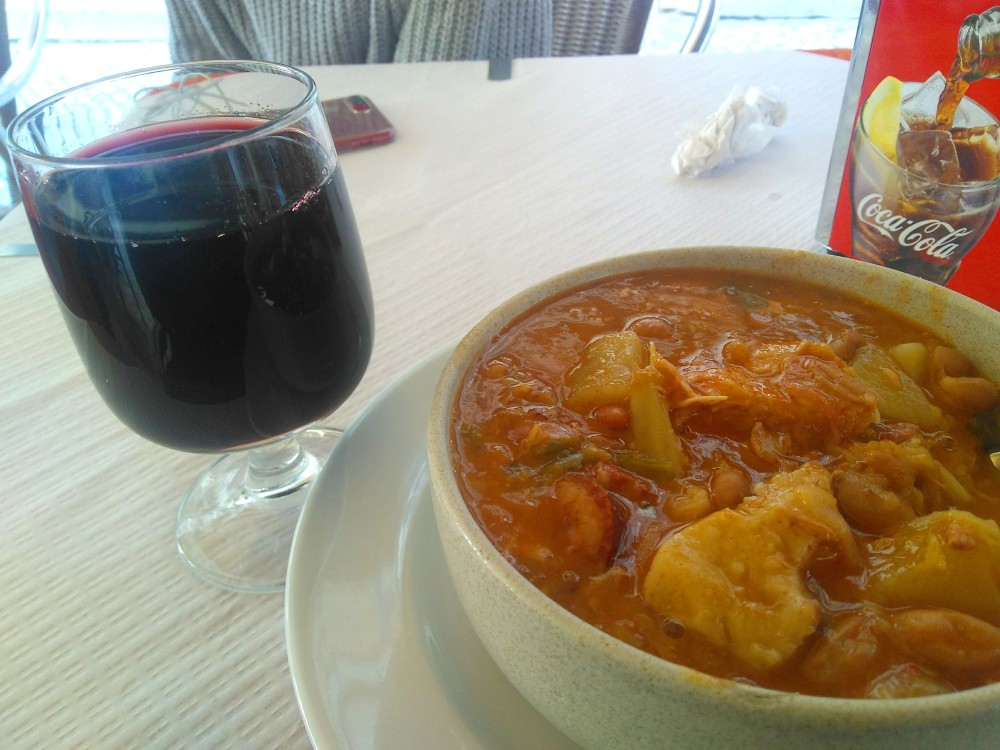 Sopa do Painel da Baixa, Lisboa, Portugal | Crédito: Camila Honorato