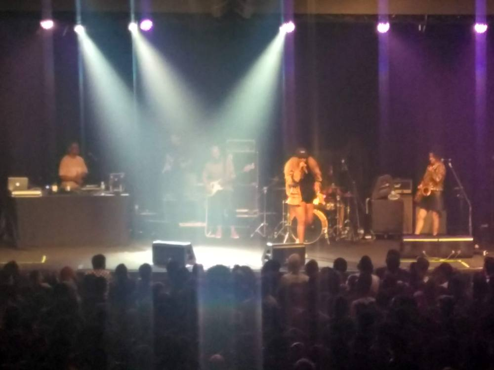 Tássia Reis no show da Pitty na Audio Club em São Paulo (Setembro de 2018) | Crédito: Camila Honorato