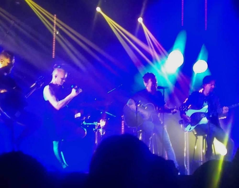 The Rasmus durante apresentação em São Paulo em 11/11/2018 | Crédito: Camila Honorato